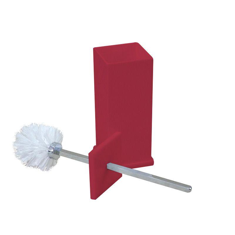 Porta Escova Sanitária Sem Strass Decor Cereja