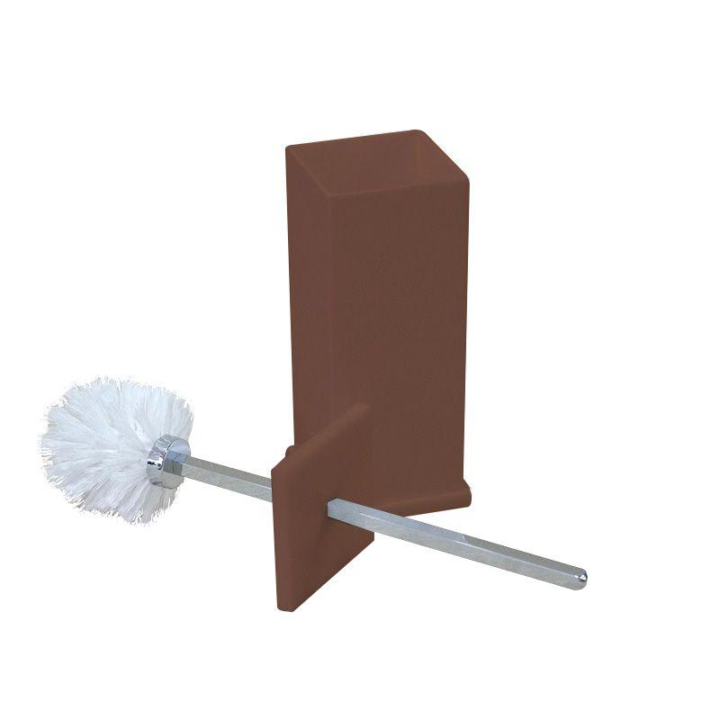Porta Escova Sanitária Sem Strass Decor Chocolate
