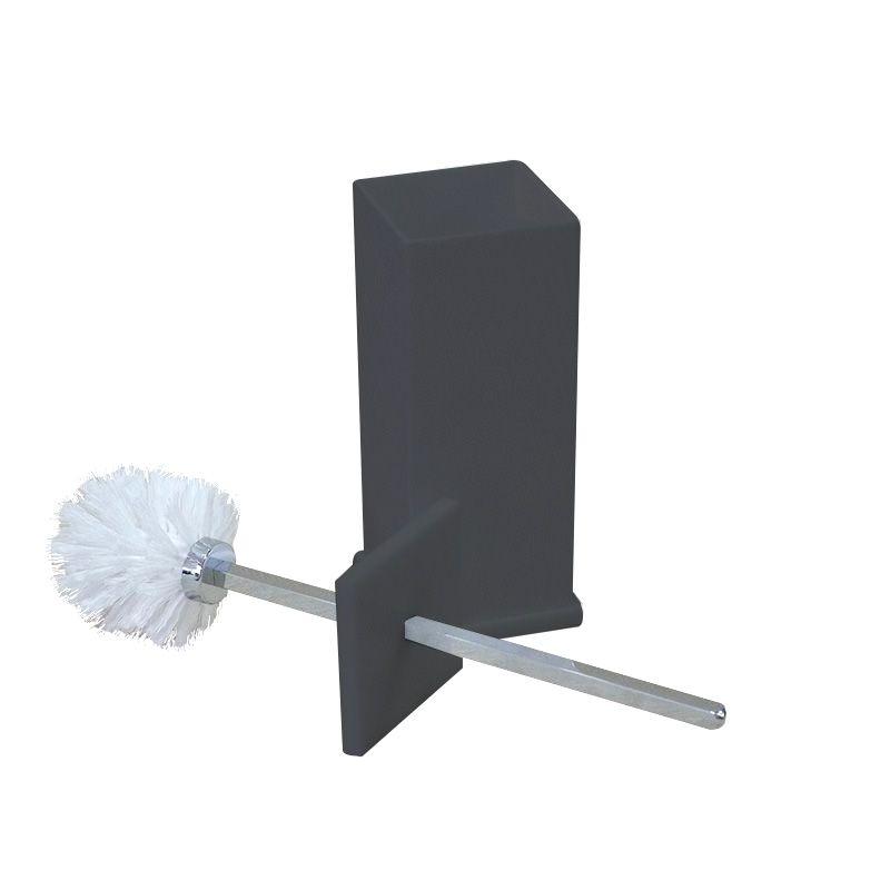 Porta Escova Sanitária Sem Strass Decor Preto