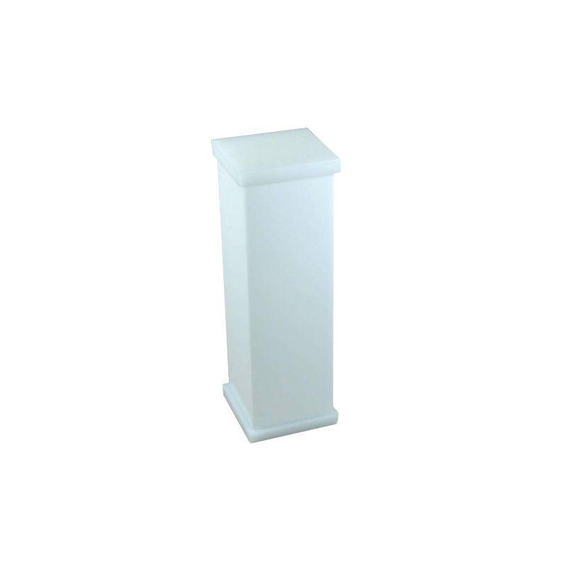 Porta Escova Sem Strass Decor Branco