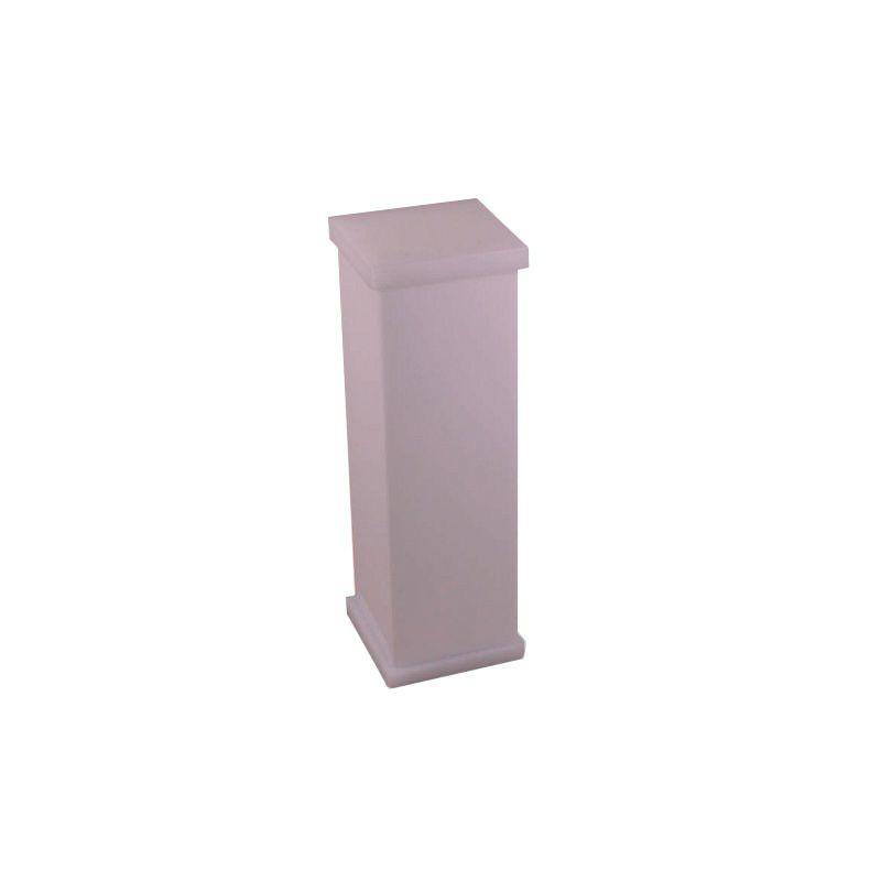 Porta Escova Sem Strass Decor Rosa Perolizado