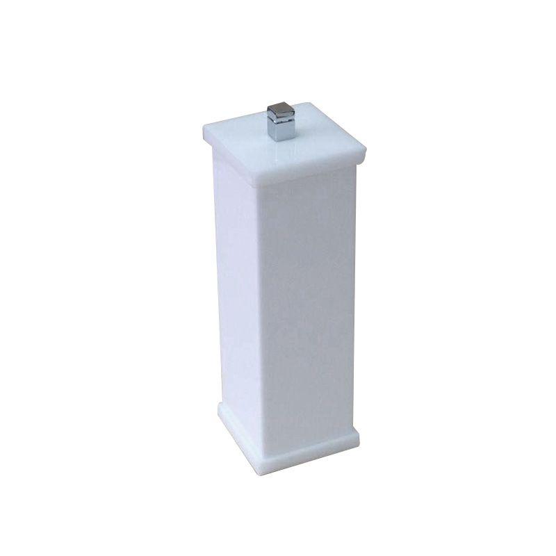 Porta Escova Sem Strass Duo Decor Branco