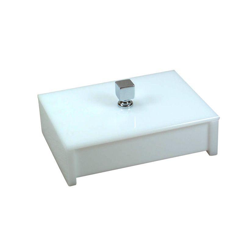 Porta Objeto Branco Decor
