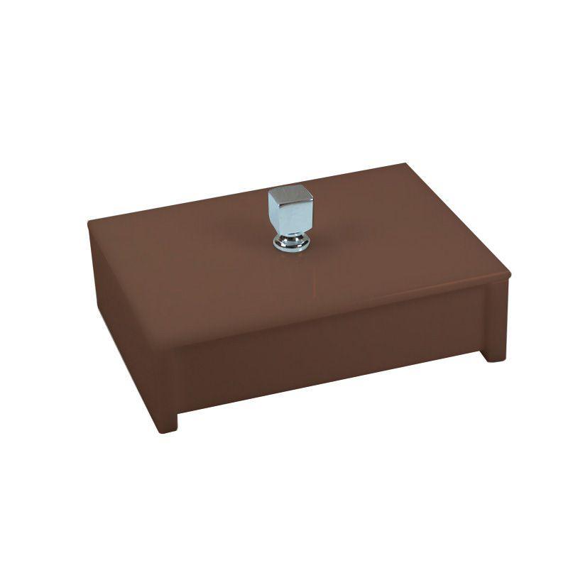 Porta Objeto Sem Strass  Decor Chocolate