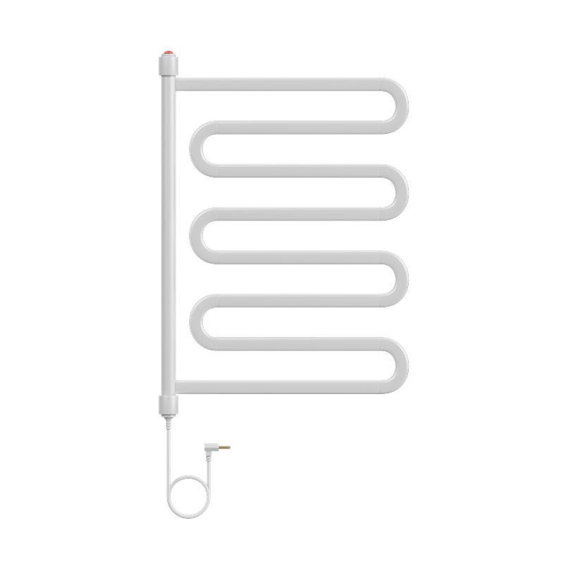 Porta Toalha Aquecido Cativa Flex Plus Clean 127V 100W Branco