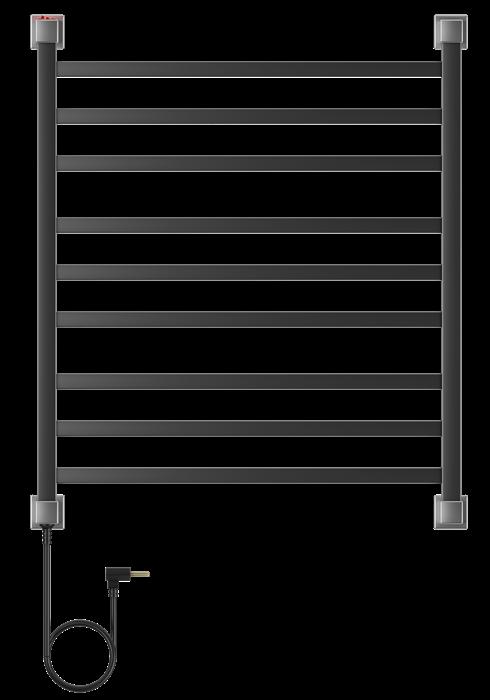 Porta Toalha Aquecido Conceito Luxo 220V 100W Preto