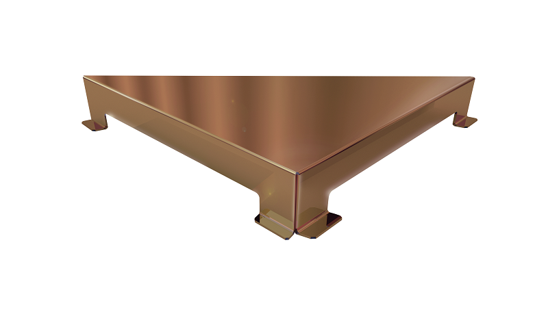 Ralo Linear Elleve Triangular Vertex Tampa Inox Red Gold Linear