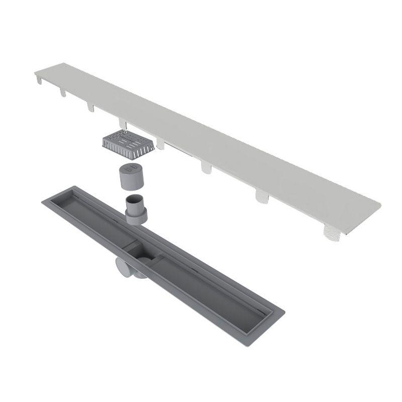 Ralo Linear Smart Sifonado com Tampa Inox 60cm