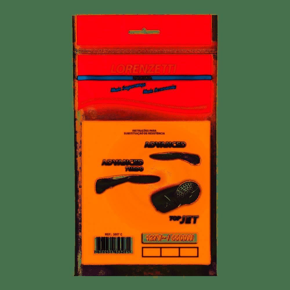 Resistência Advanced/Top Jet 127V 5500W 3055-Q Lorenzetti