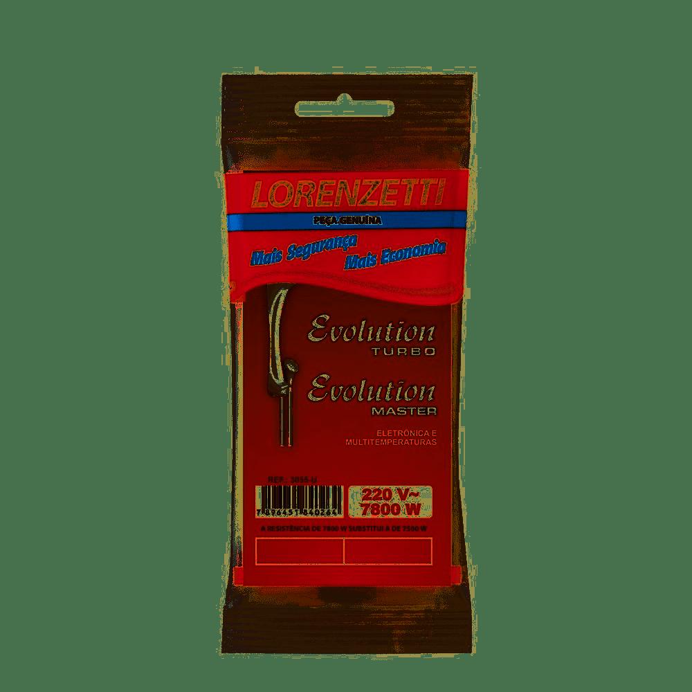 Resistência Evolution 220V 7800W 3055-U Lorenzetti