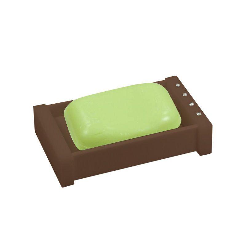 Saboneteira Caixinha Com Strass Cristal Decor Chocolate