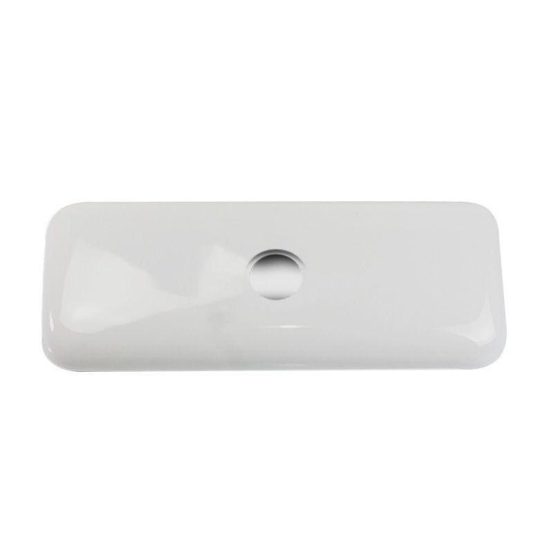 Tampa para Caixa Acoplada Compacta Celite /Incepa/Logasa Cinza Prata