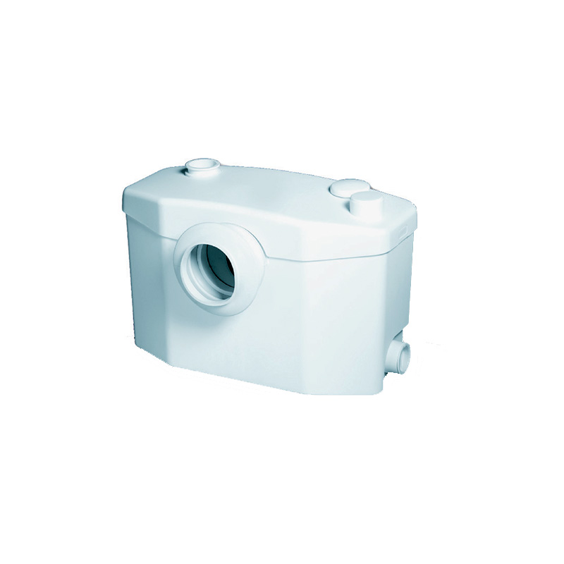 Triturador Adaptável para Sanitário Sanipro Branco Sanitrit