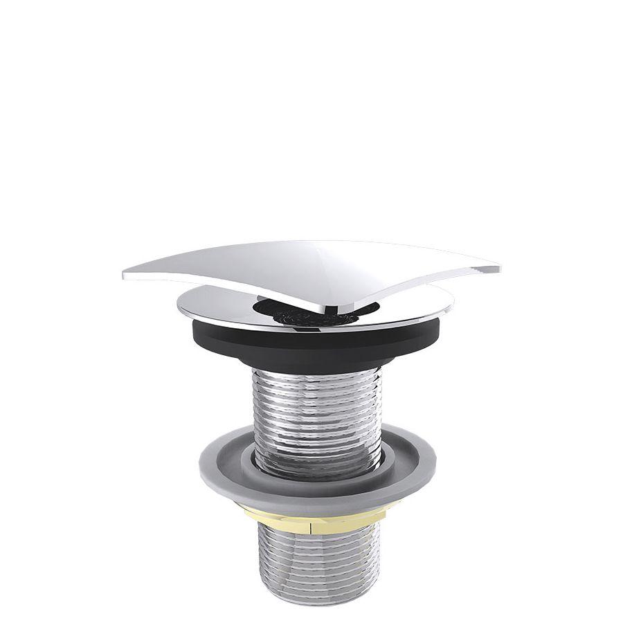 Válvula Para Lavatório Quadrada C/Click 1