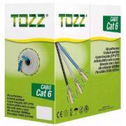 Cabo De Rede Caixa 305M Cat6 Tozz Azul