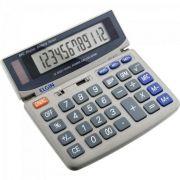 Calculadora De Mesa Elgin Mv4121 Visor| 12 Dig| Solar| Display Inclinavel