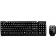 Kit Teclado E Mouse S/ Fio C3 Plus K-W11Bkv2 Preto