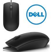 Mouse Dell Usb, Modelo Ms116 (Preto, Com Fio)
