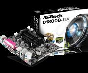 Placa Mae D1800B-Itx C/ Proc Integrado Intel J1800 Hdmi Asrock