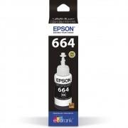 Refil De Tinta T664120-Al 70Ml Preto Epson
