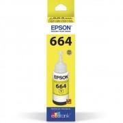 Refil De Tinta T664420-Al 70Ml  Amarelo Epson