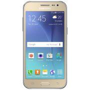 Smartphone Samsung Galaxy J2 Sm-J200Bt 8Gb 4G Tv Dourado Desbloqueado