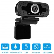 Webcam Lm Full Hd 1080P Com Microfone Usb 2.0