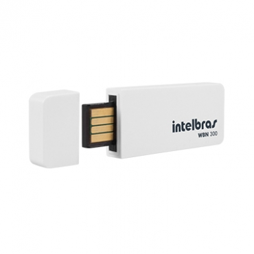ADAPTADOR WIRELESS USB INTELBRAS WBN-300 MBPS