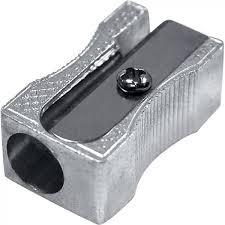 Apontador Metal Retangular Brw