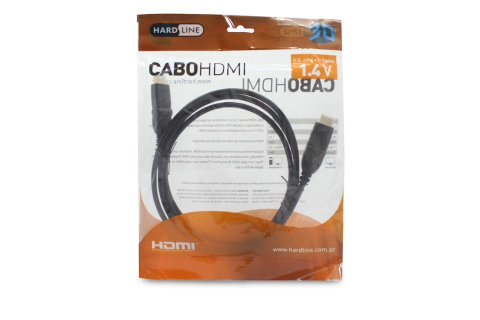 Cabo Hdmixhdmi 1,8M 180° 1.4V Hvthdmi1.8R Hardline