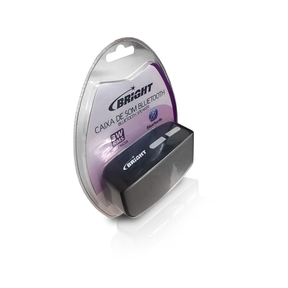 Caixa De Som Bluetooth Bright Usb| Microsd 3W