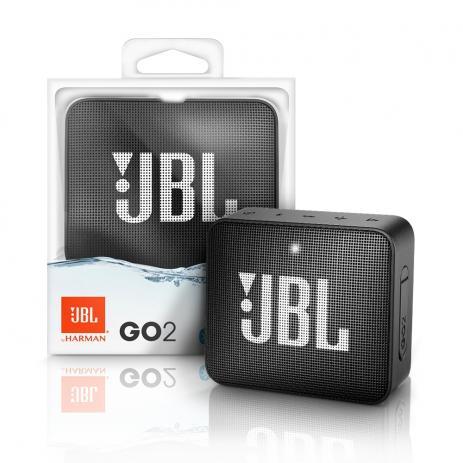 Caixa De Som Bluetooth Go2 Preta Jbl