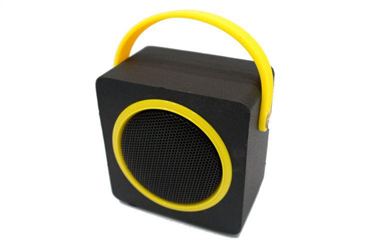 Caixa De Som Bluetooth Oex Sk404 10W Usb| Microsd| Fm| Amarelo