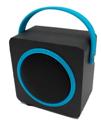 Caixa De Som Bluetooth Oex Sk404 10W Usb| Microsd| Fm| Azul