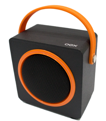 Caixa De Som Bluetooth Oex Sk404 10W Usb| Microsd| Fm| Laranja