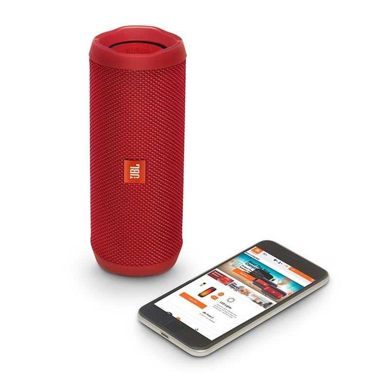 Caixa De Som Flip4 Bluetooth Vermelha Jbl