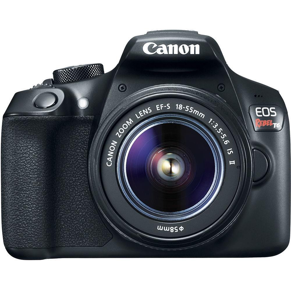 Camera Digital 18.0 Mp Canon Eos Rebel T6 18-55 Mm