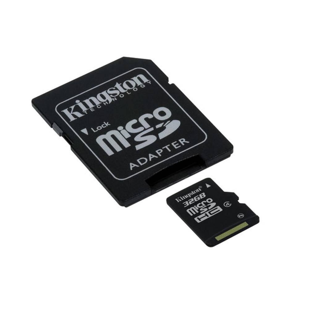 Cartao De Memoria Sd 32Gb Kingston Classe 4 Sdc4/32Gb Micro Sdhc