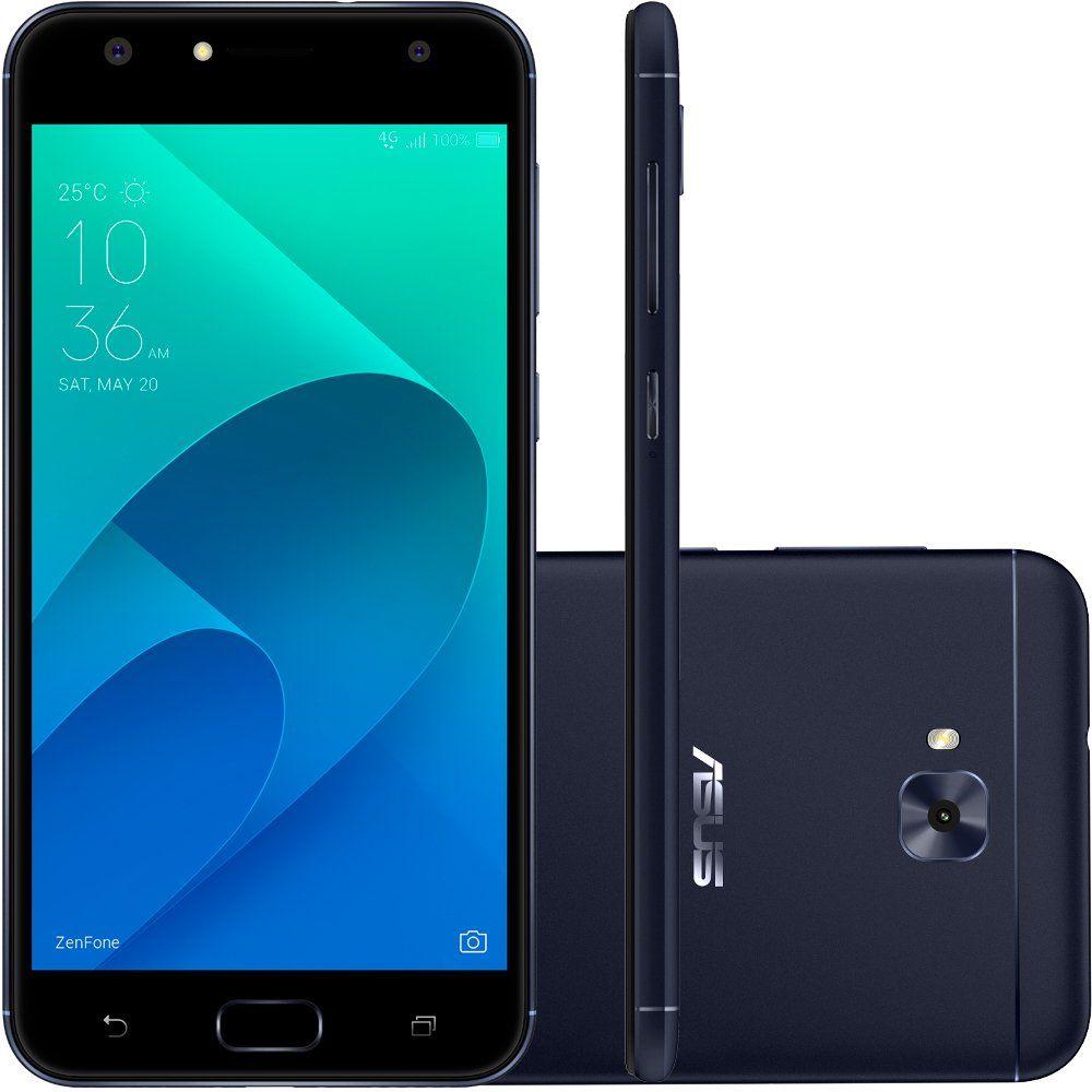 Celular Asus Zenfone 4 Selfie Pro Zd552Kl Oc| 64Gb| 4Gbram| 5.5|  Preto