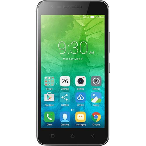 Celular Lenovo Vibe C2|Qc|16Gb|1Gb Ram|8Mp|4G|Preto Desbloqueado