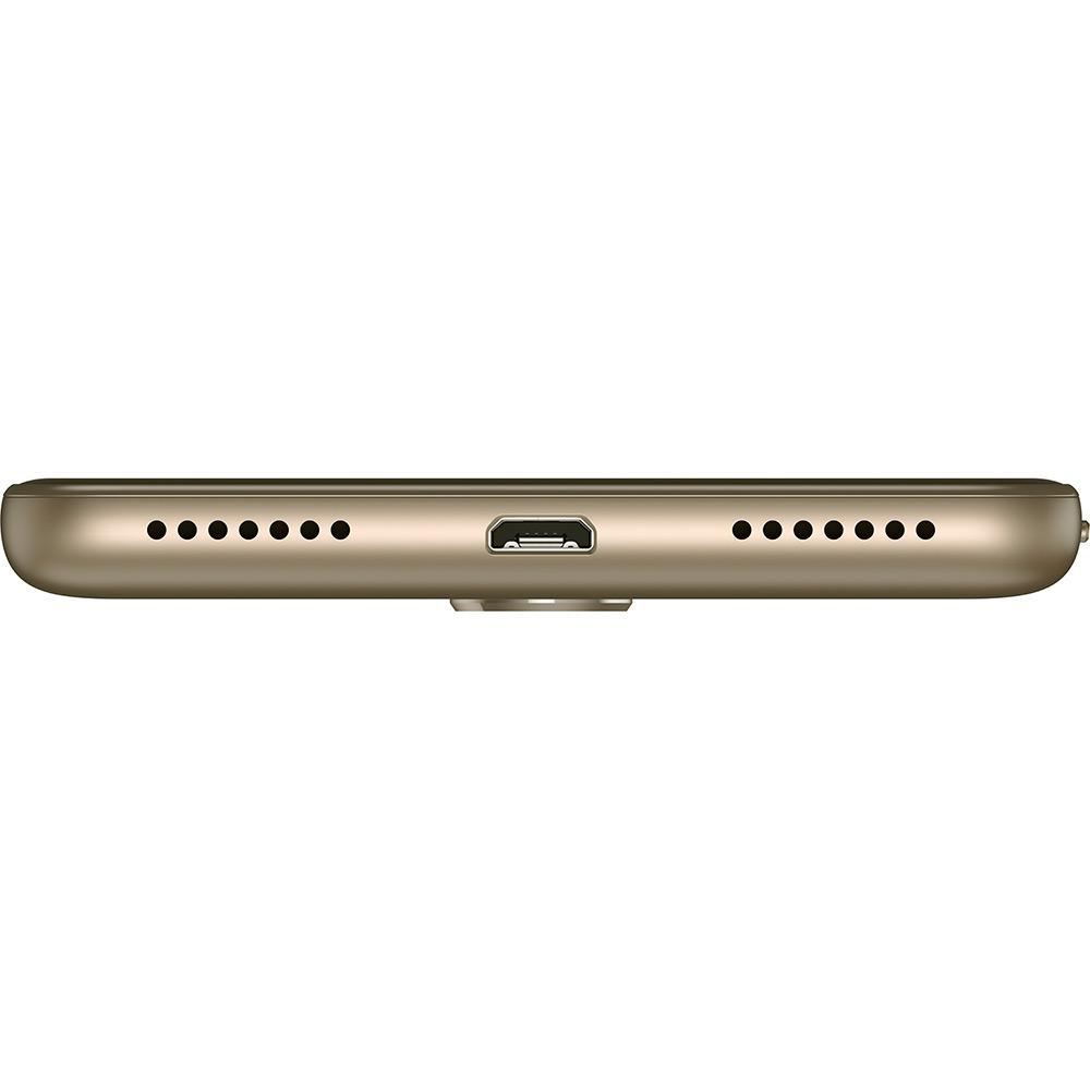 Lenovo Vibe K6 32Gb/5/2Gbram/4G/13Mp/Sensor Biometrico/Dourado Desbloq.
