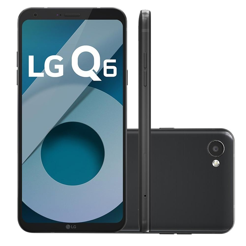 Celular Lg Q6 M700Tv Oc|32Gb|3Gb Ram|4G|13Mp|5,5 Hd|Preto