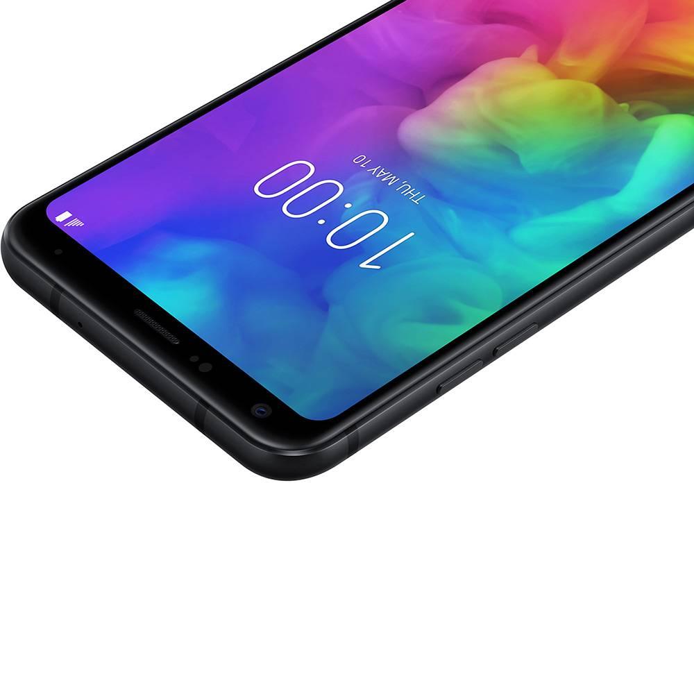 Celular Lg Q7+ Oc 1.5Ghz  64Gb  4Gb Ram  16Mp  5,5 Fhd+  Preto - Lmq610Ba