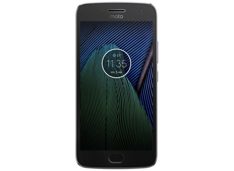 Celular Moto G5 Plus Xt1683 Oc|2Gbram|32Gb|5,2|4G|Platinum