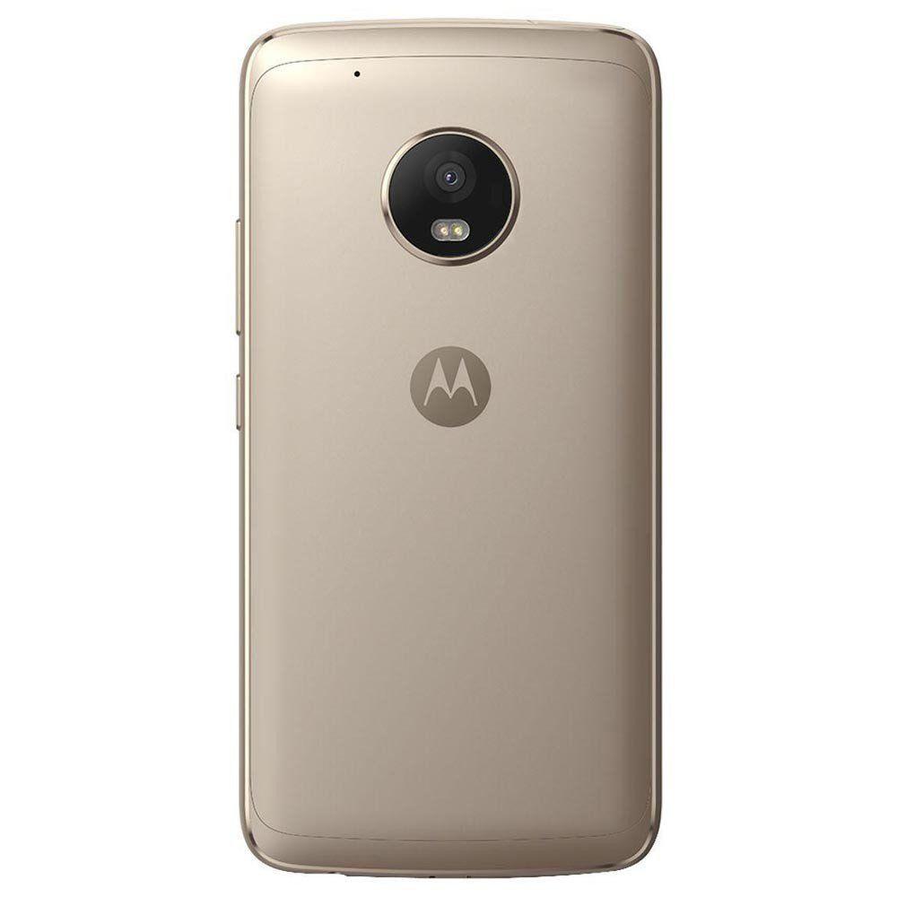Celular Moto G5S Xt1792 Oc|2Gbram|32Gb|5,2Full Hd|4G|16Mp|Ouro