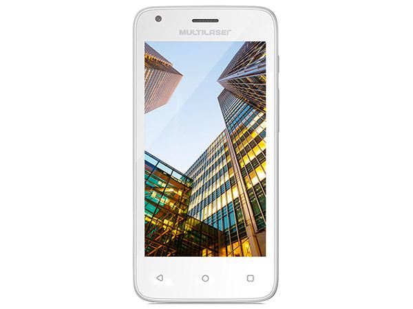 Celular Multilaser Ms45S 4.5 Quad Core 8Gb 3G 1Gb Ram Branco Nb235 Desbloqueado