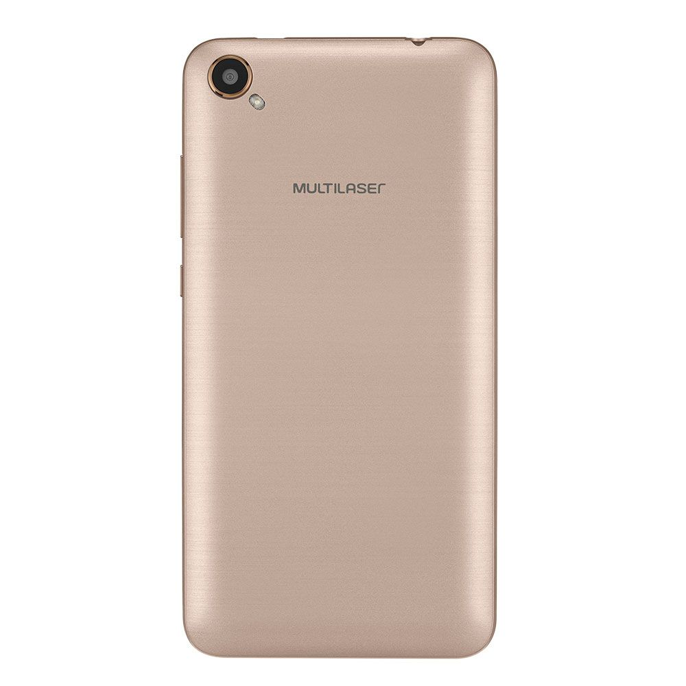 Celular Multilaser Ms50L Qc|8Gb|3G|1Gb Ram|Branco/Dourado|Nb707