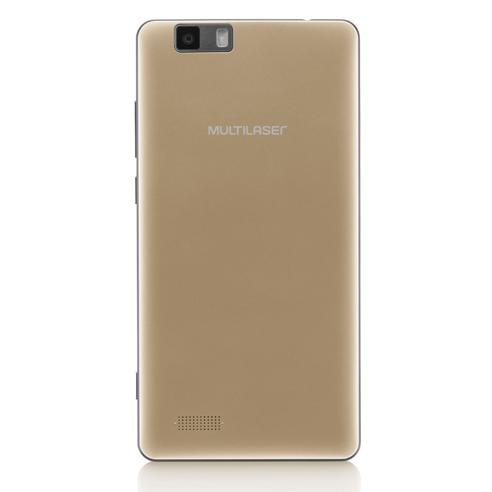 Celular Multilaser Ms70 P9037 Oc|64Gb|3Gb|4G|16Mp|5.85 Full Hd Dourado