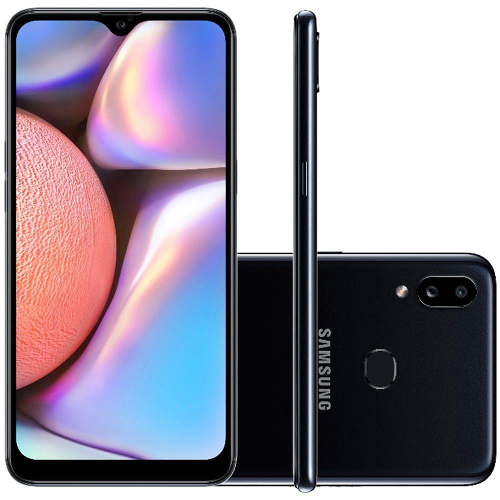 Celular Samsung Galaxy A10S Sm-A107M| Ds Oc| 32Gb| 2Gbram| 13Mp+2Mp| 6.2| Preto