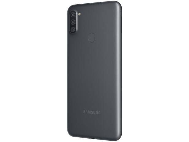 Celular Samsung Galaxy A11 Sm-A115M  Ds Oc  64Gb  3Gbram  13Mp+2Mp  6.4  Preto